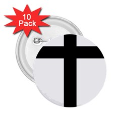 Patriarchal Cross 2.25  Buttons (10 pack)