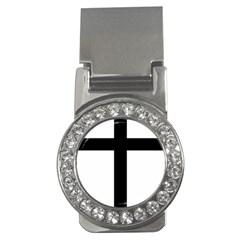 Patriarchal Cross Money Clips (cz)