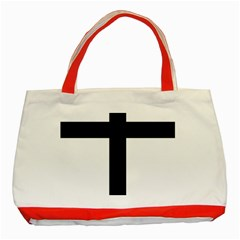 Patriarchal Cross Classic Tote Bag (Red)
