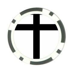 Patriarchal Cross Poker Chip Card Guard (10 pack)
