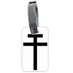 Patriarchal Cross Luggage Tags (one Side)