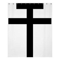 Patriarchal Cross Shower Curtain 60  x 72  (Medium)
