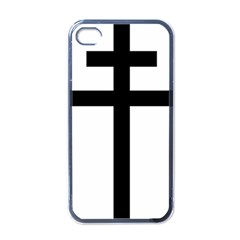 Patriarchal Cross Apple iPhone 4 Case (Black)