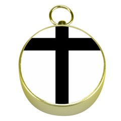 Patriarchal Cross Gold Compasses