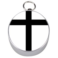 Patriarchal Cross Silver Compasses