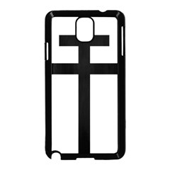 Patriarchal Cross Samsung Galaxy Note 3 Neo Hardshell Case (black)