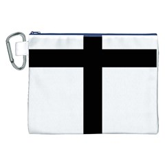Patriarchal Cross Canvas Cosmetic Bag (xxl)