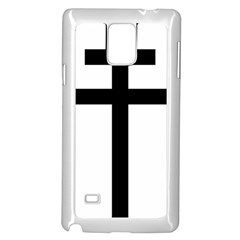 Patriarchal Cross Samsung Galaxy Note 4 Case (white)