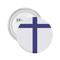 Patriarchal Cross 2 25  Buttons