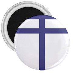 Patriarchal Cross 3  Magnets