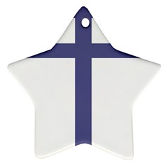Patriarchal Cross Ornament (star)