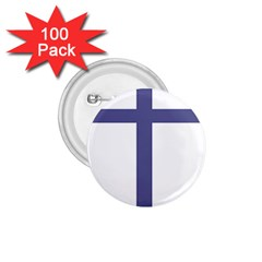 Patriarchal Cross 1 75  Buttons (100 Pack)