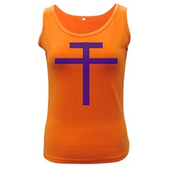 Patriarchal Cross Women s Dark Tank Top