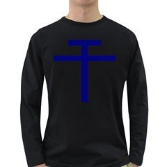 Patriarchal Cross Long Sleeve Dark T-Shirts