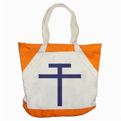 Patriarchal Cross Accent Tote Bag
