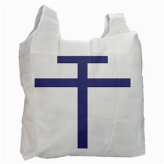 Patriarchal Cross Recycle Bag (One Side)