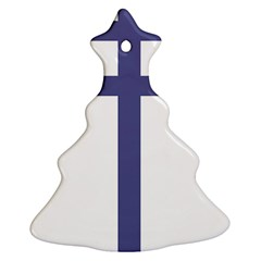 Patriarchal Cross Christmas Tree Ornament (two Sides)