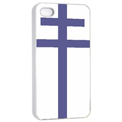 Patriarchal Cross Apple iPhone 4/4s Seamless Case (White)