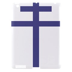 Patriarchal Cross Apple iPad 3/4 Hardshell Case (Compatible with Smart Cover)