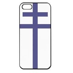 Patriarchal Cross Apple Iphone 5 Seamless Case (black)