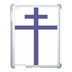 Patriarchal Cross Apple Ipad 3/4 Case (white)