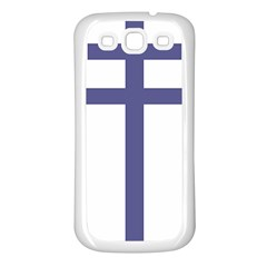 Patriarchal Cross Samsung Galaxy S3 Back Case (white)