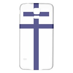 Patriarchal Cross Samsung Galaxy S5 Back Case (White)