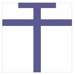 Patriarchal Cross Large Satin Scarf (Square)