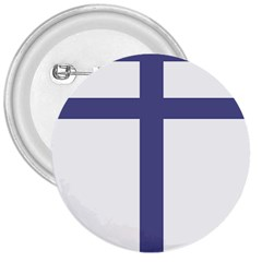 Patriarchal Cross 3  Buttons