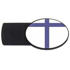 Patriarchal Cross USB Flash Drive Oval (2 GB)