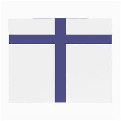 Patriarchal Cross Small Glasses Cloth (2 Side)