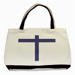 Patriarchal Cross Basic Tote Bag (Two Sides)