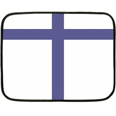 Patriarchal Cross Double Sided Fleece Blanket (mini)