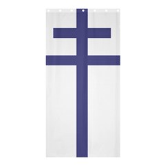 Patriarchal Cross Shower Curtain 36  X 72  (stall)