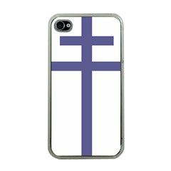 Patriarchal Cross Apple iPhone 4 Case (Clear)