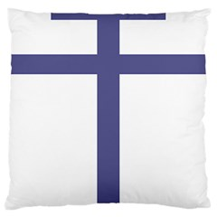 Patriarchal Cross Large Cushion Case (One Side)