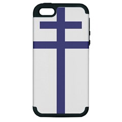Patriarchal Cross Apple iPhone 5 Hardshell Case (PC+Silicone)