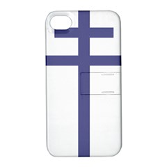 Patriarchal Cross Apple Iphone 4/4s Hardshell Case With Stand