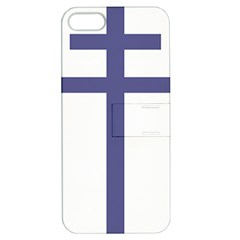 Patriarchal Cross Apple iPhone 5 Hardshell Case with Stand