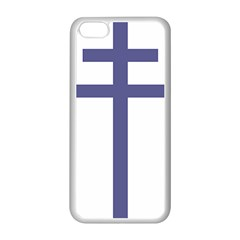 Patriarchal Cross Apple iPhone 5C Seamless Case (White)
