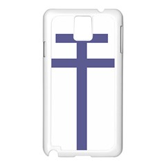 Patriarchal Cross Samsung Galaxy Note 3 N9005 Case (white)