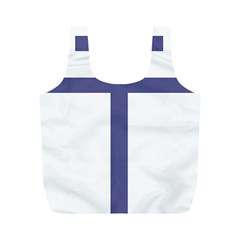 Patriarchal Cross Full Print Recycle Bags (m)