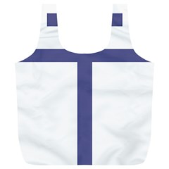Patriarchal Cross Full Print Recycle Bags (l)