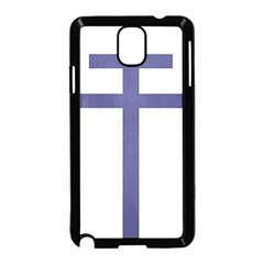 Patriarchal Cross Samsung Galaxy Note 3 Neo Hardshell Case (black)