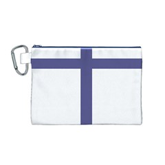 Patriarchal Cross Canvas Cosmetic Bag (m)
