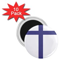 Patriarchal Cross  1 75  Magnets (10 Pack)