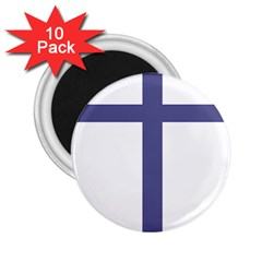 Patriarchal Cross  2 25  Magnets (10 Pack)