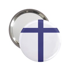 Patriarchal Cross  2 25  Handbag Mirrors