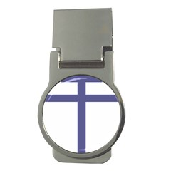 Patriarchal Cross  Money Clips (round)