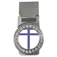 Patriarchal Cross  Money Clips (cz)